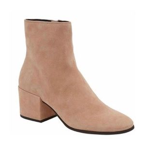 NEW Dolce Vita Maude Suede Blush Booties